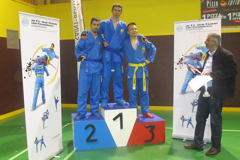 Catégorie Combat – Thomas et Brahim – Médailles d'Or et d'Argent