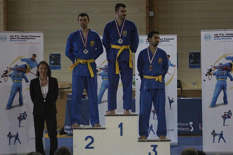 Combat – Thomas – Médaille d'Argent et Brahim – Médaille de Bronze