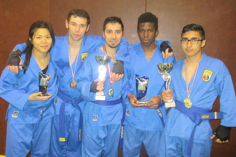 Nos médaillés