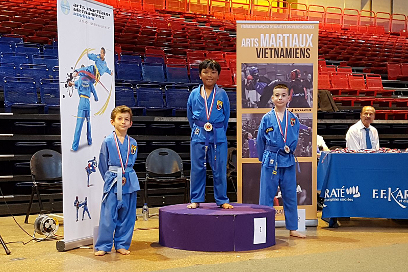 Coupe de France de Vovinam (enfants) – Paris (13e) – 2017