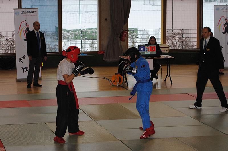 Catégorie Combat – Nicolas Bounkaï (bleu)