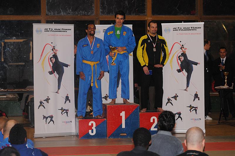 Brice Nabab – Médaille de Bronze et Nicolas Bounkaï – Médaille d'Or