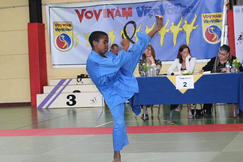Coupe de France de Vovinam (enfants) – Roissy-en-Brie (77) – 2011
