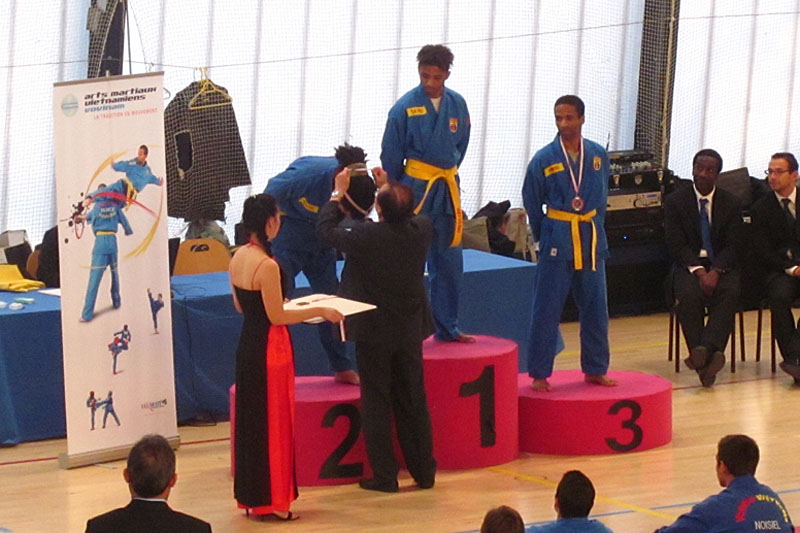 Catégorie Combat – Boris Labrador – Médaille de Bronze