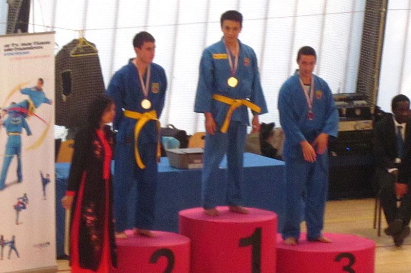 Catégorie Combat – Nicolas Bounkaï – Médaille d'Or