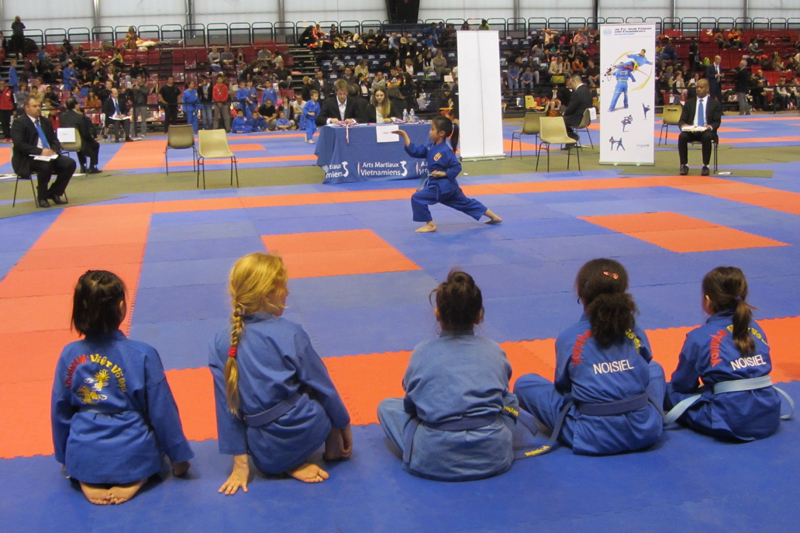 Coupe de France de Vovinam (enfants) – Paris (13e) – 2015