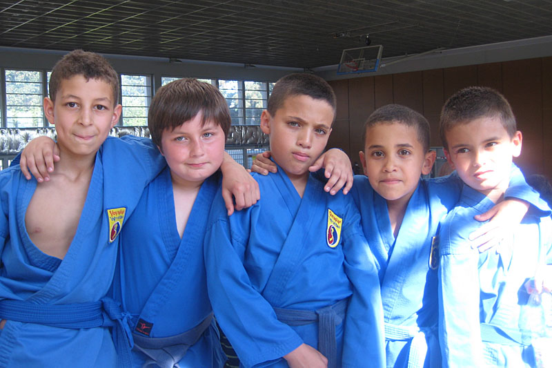 Championnat de France de Vovinam (enfants) – Paris (12e) – 2012