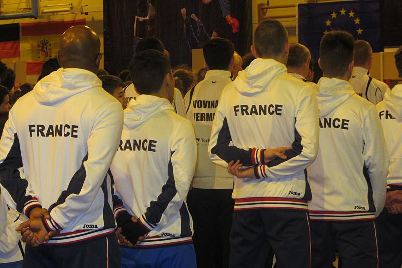 Equipe de France Junior 2015