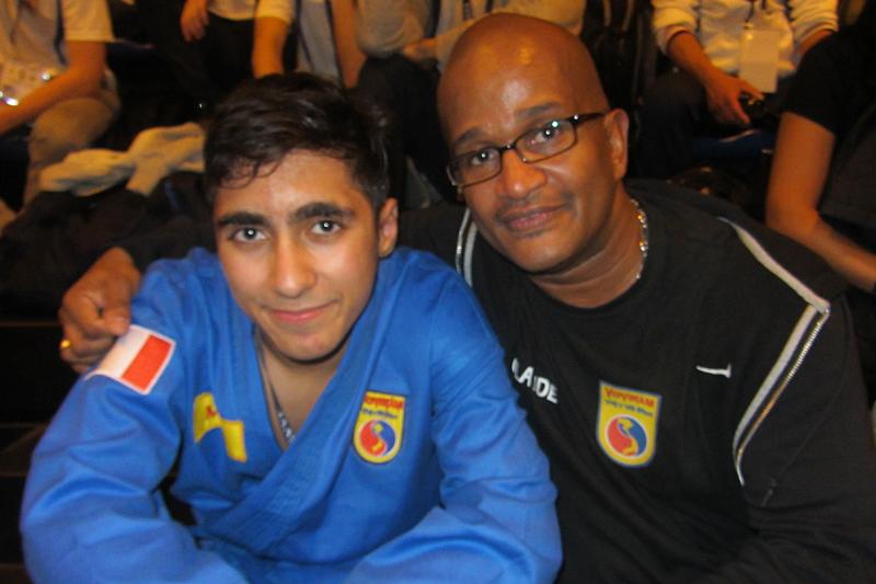 Mehdi Boukhriss et Klod Jacquet