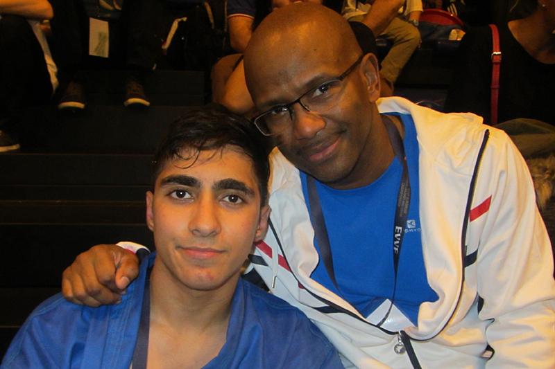Mehdi Boukhriss et Simon Jacquet