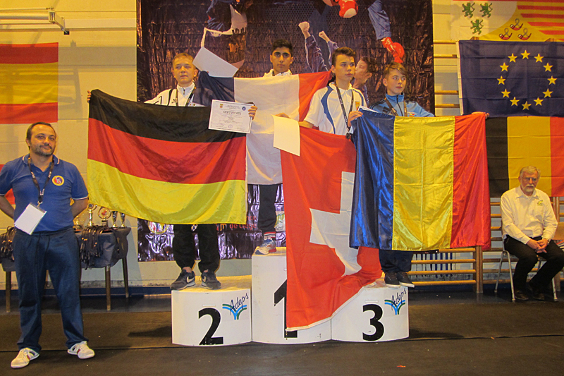 Championnat d'Europe Junior de Vovinam – Belgique – 2015