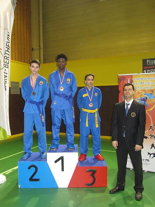 Catégorie Combat – Alex – Médaille d'Or, Rémy – Médaille d'Argent