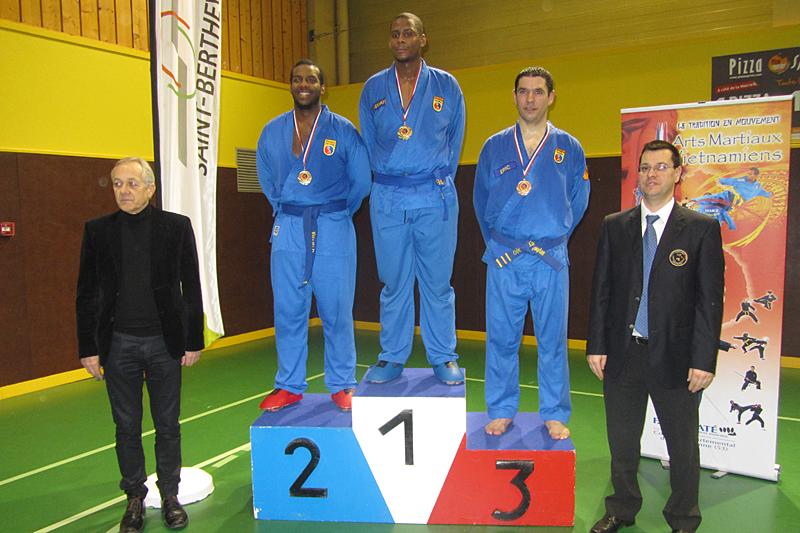 Catégorie Combat – Jordan – Médaille d'Or, Edson – Médaille d'Argent