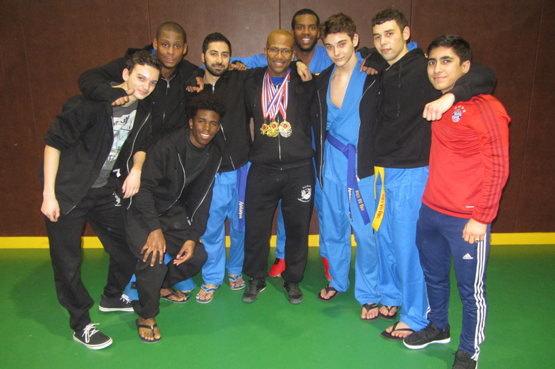 Coupe de France de Vovinam – Saint-Berthevin (53) – 2016