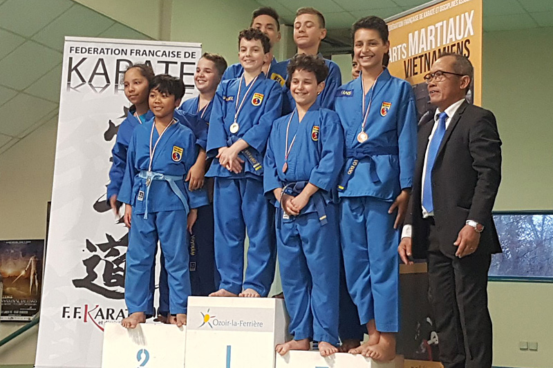 Catégorie Technique – Shaïnna, Senny et Mathis – Médaille d'Argent