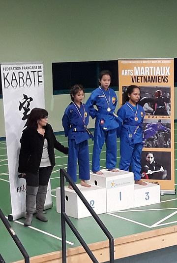 Catégorie Technique – Shaïnna – Médaille de Bronze