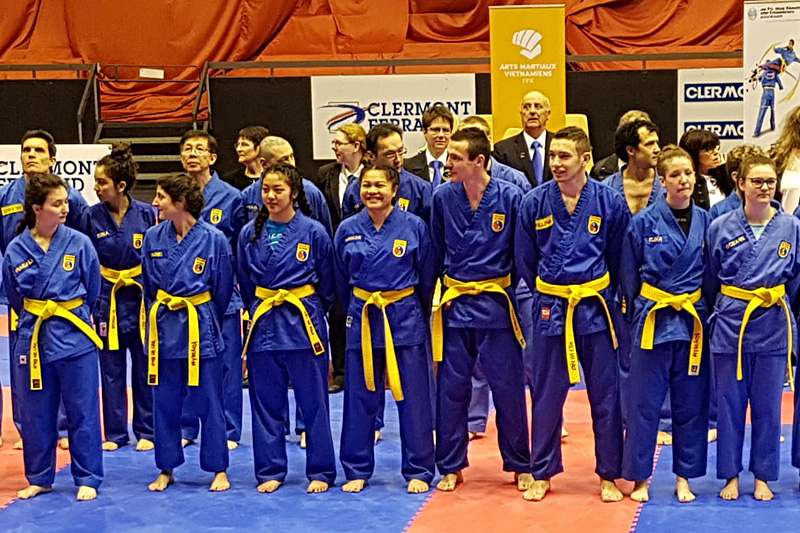Championnat de France technique de Vovinam – Clermont-Ferrand (63) – 2018