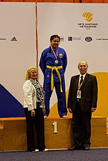 Catégorie Technique – Anémone – Médaille d'Or