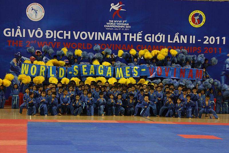 2e championnat du Monde de Vovinam Viêt Võ Dao 2011