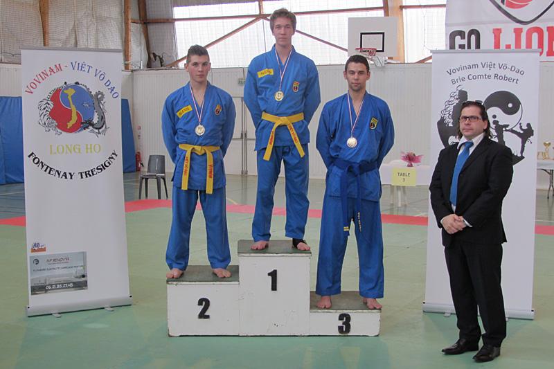 Catégorie Technique – Thomas Tran – Médaille de Bronze