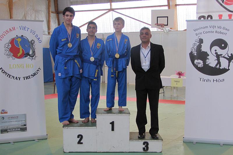 Catégorie Technique – Mehdi Boukhriss – Médaille d'Argent