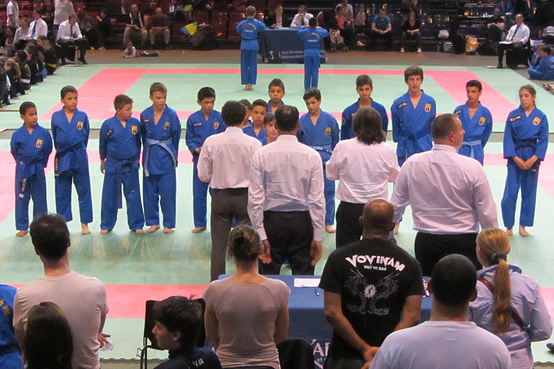 Coupe de France de Vovinam (enfants) – Paris – 2014
