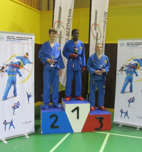 Catégorie Combat – Alexandre Jacquet – Médaille d'Or
