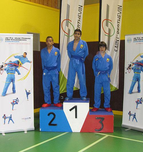 Catégorie Combat – Mehdi Boukhriss – Médaille d'Or