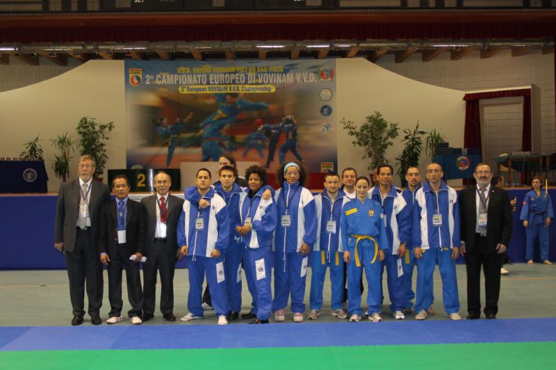 Championnat d'Europe de Vovinam – Italie – 2012