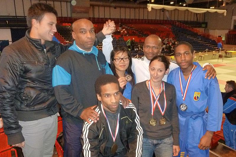Le VCOAM et ses médaillés