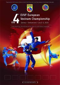 4e europ vovinam championship affiche