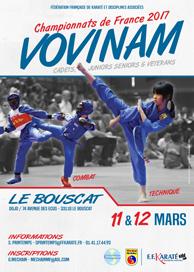Championnats france vovinam mars2017 aff